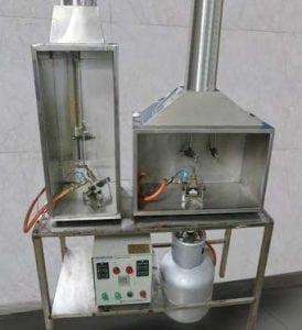 équipement d'essai d inflammabilité selon UL94